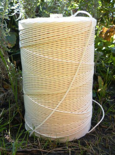 Bougies Mèche Runddocht pour abeilles Cire baumwolldocht mèche pour bougies 1-100 m