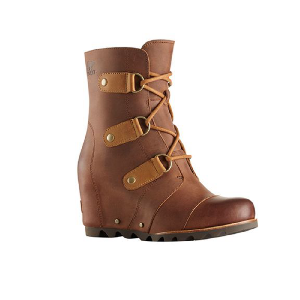 Sorel Joan of Arctic Wedge Wedge Wedge Mid Elk braun Winter Snow Stiefel damen Größe 10 4e5cea