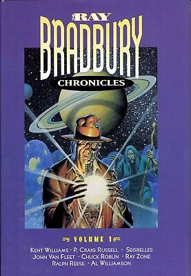 RAY BRADBURY CHRONICLES VOL 1 SPECIAL LIMITED EDITION 485 OF 1200 SIGNED!