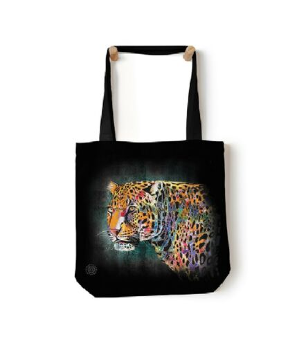 "The Mountain 18/""x18/"" Tote Bag Painted Cheetah Shopping Travel Beach Gym Bag"