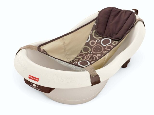 FISHER PRICE CALMING WATERS VIBRATION BATHTUB Infant Baby Toddler Calm Bath NEW