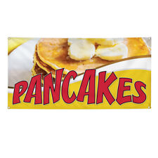 Vinyl Banner Multiple Sizes Pancakes Outdoor Advertising Printing C Outdoor