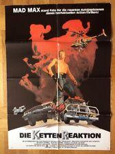 Kettenreaktion (Kinoplakat '81) - Steve Bisley / Arna-Maria Winchester