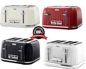 3b46b512b2a0 Image is loading Breville-VTT476-Impressions-4-Slice-Toaster-Black-WHITE-