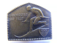 Lapel Pin Badge Kandersteg Ski Test