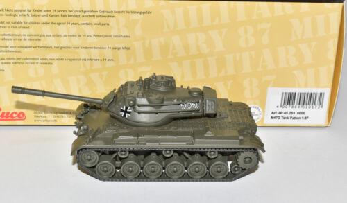 Schuco 45 263 6000 Pz M47 G Kampfpanzer Patton Bw Bundeswehr oliv NEU /& OVP 1:87