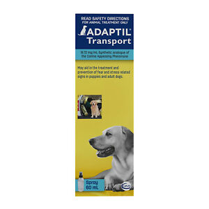 Adaptil Spray to Reduce Fear & Stress in Dogs & Puppies- 60ml