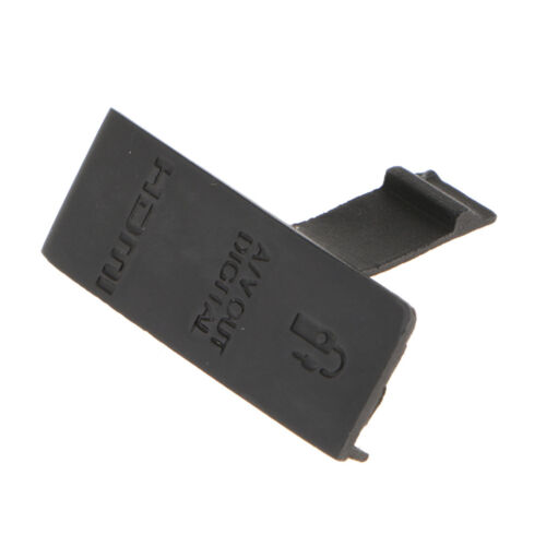 Replacement Part for Canon EOS 500D USB Video Out Rubber Door Cover Lid Cap
