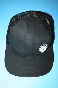 e9c25b7f7ae RARE Sun Bum Black Mesh Snapback Baseball Trucker Cap Hat w  Sonny ...
