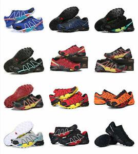 outdoor-jogging-Mens-Salomon-Speedcross-4-Athletic-Running-Hiking-Sneakers-Shoes