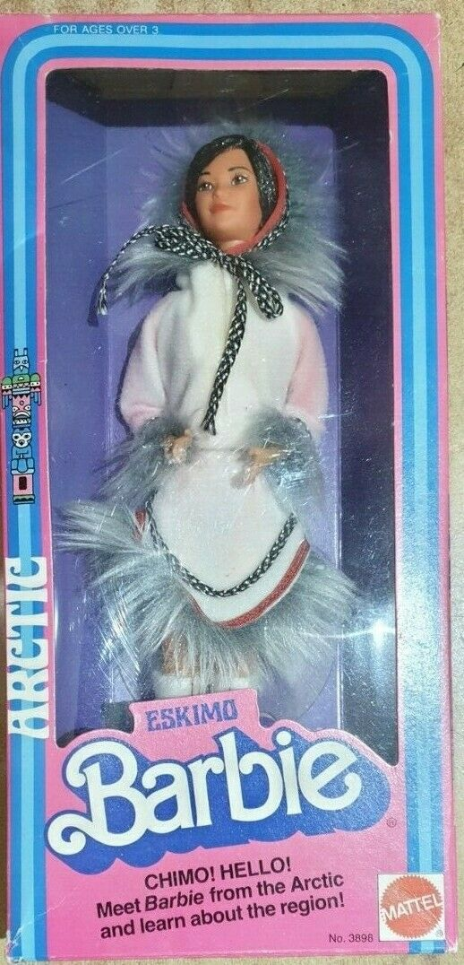 Barbie Eskimo Mattel  Vintage 81'  rivenditori online