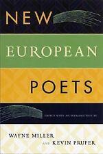 New European Poets-ExLibrary