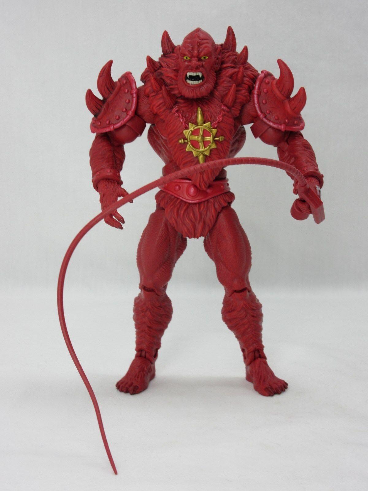 Motuc, Amos del Universo, Rojo Beast Man, Amos del universo clásicos, 100% completo, él hombre
