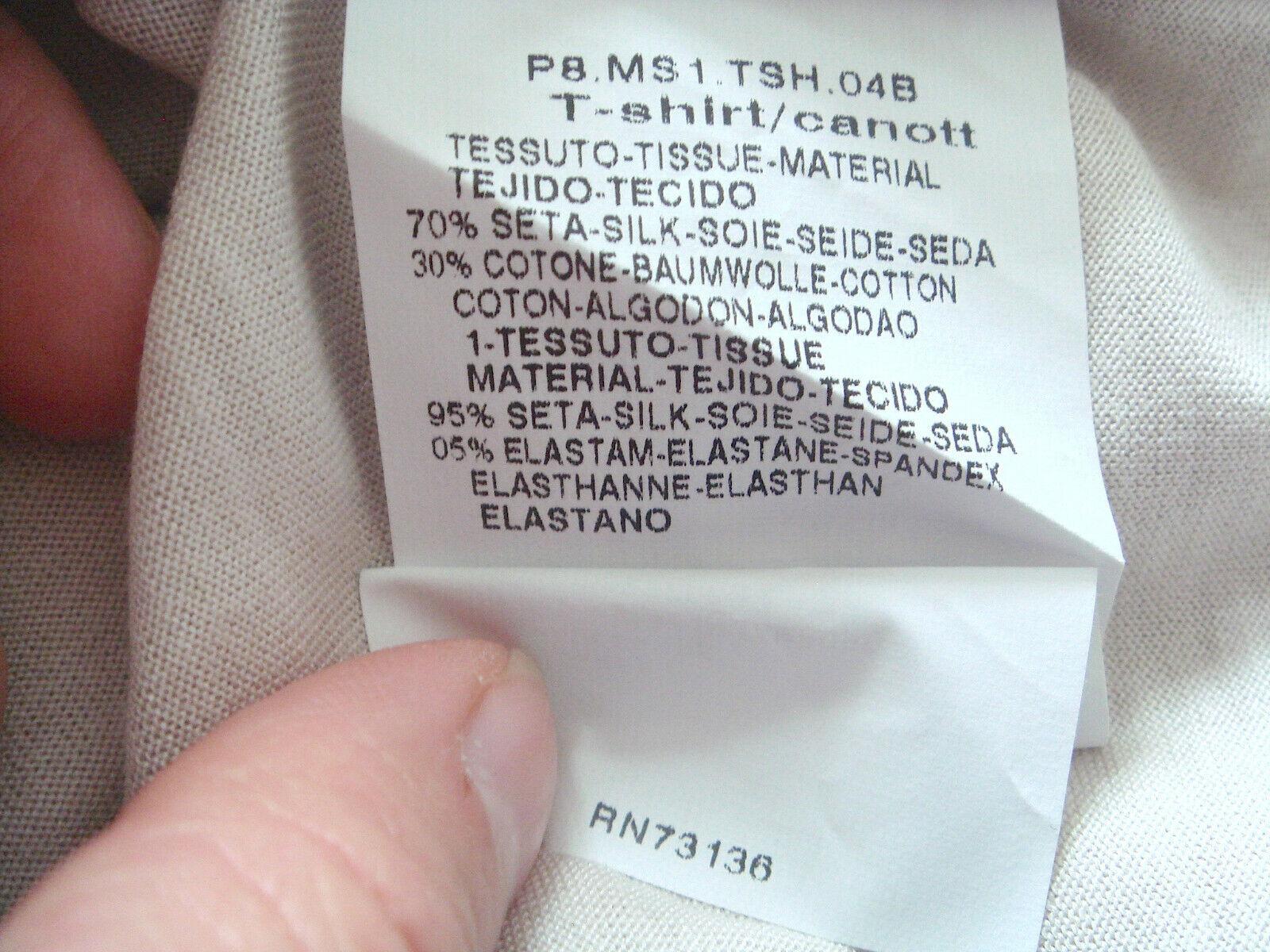 S 'MAX MARA MARA MARA by MAX MARA Top con eleganti pietre Swarowski 70% seta, 30% Co Taglia M e01430
