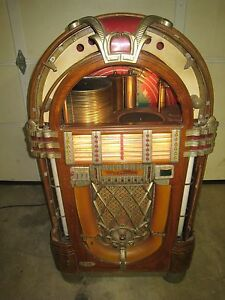 Details about Wurlitzer 1015 Jukebox Bubbler 1946 Original Un-Restored  Plays Well Works !!!!!