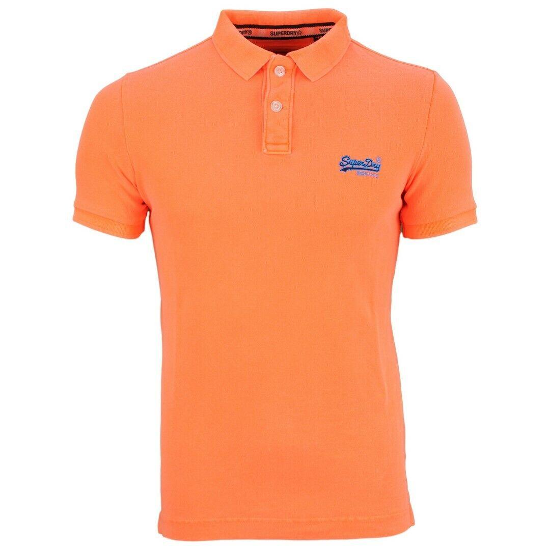 Superdry Men's Polo Shirt Hyper Classic Pique orange M11010et 12m orange