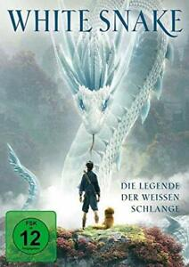 WHITE SNAKE-la leggenda dei bianchi serpente [DVD/Nuovo/Scatola Originale] FANTASY garibaldina per est