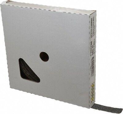 "Tru-Maxx 1/"" x 25 Yd 80 Grit Silicon Carbide Shop Roll Medium Grade Screen Ro..."