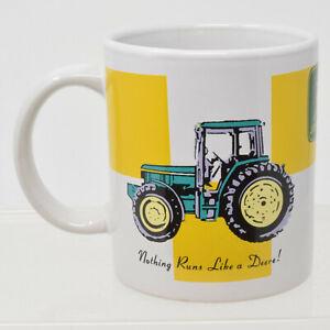 John Deere Tracteur Agricole Tasse À Café Mug Rien Ne Fonctionne Comme Un Deere Vert Jaune-afficher Le Titre D'origine Laakqwzw-08000902-971896350