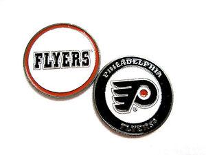 ee0e512c520 Image is loading NHL-Philadelphia-Flyers-Golf-Ball-Marker-Enamel-Metal-