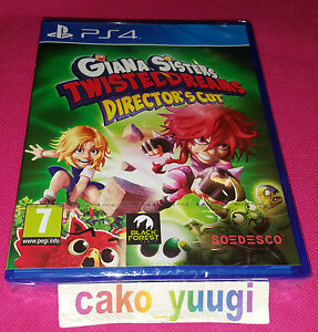 GIANA-SISTERS-TWISTED-DREAMS-DIRECTOR-039-S-CUT-SONY-PS4-NEUF-VERSION-FRANCAISE