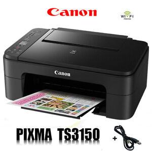 CANON-PIXMA-TS3150-MULTIFUNKTIONS-DRUCKER-SCANNER-KOPIERER-WLAN