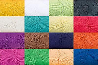 Cotton Fun Baumwollgarn Baumwolle Häkeln Gründl Schulgarn Topflappengarn Wolle