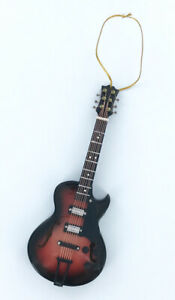 Realistic-Gibson-Style-Guitar-Christmas-Tree-Ornament-by-Broadway-Gifts-NEW