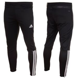 Szczegóły o Adidas Regista 18 Training Pants Mens Tracksuit Football Bottoms Black Tapered