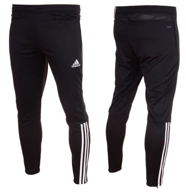 42fbd4c2a9e0 Adidas Regista 18 Training Pants Mens Tracksuit Football Bottoms Black  Tapered