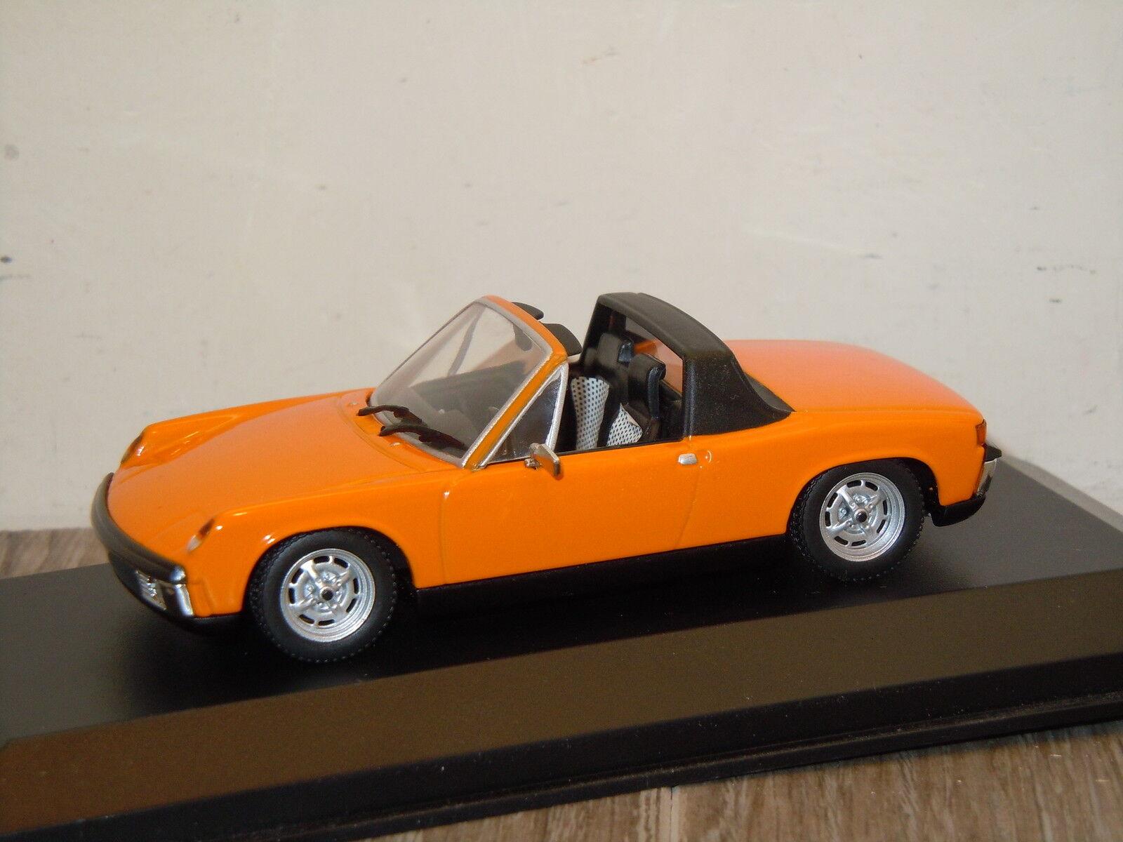 Porsche 914 1969 bis 1973 van minichamps 1 43 in kasten  20669