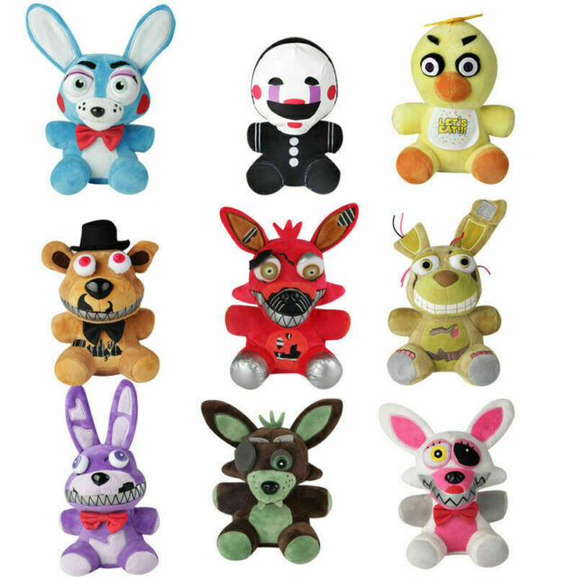 6.7'' 9pcs/set FNAF Five Nights At Freddy's Chica Bonnie