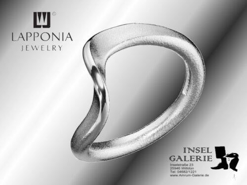"""Ring von Lapponia /""""Flowing Wind 650833/"""" NEU"""