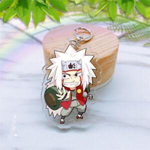 Hot-Anime-Naruto-JIRAIYA-Acrylic-Key-Ring-Pendant-Keychain-Cosplay-Gift