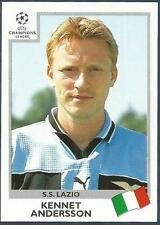 PANINI UEFA CHAMPIONS LEAGUE 1999-00- #017-LAZIO-KENNET ANDERSSON