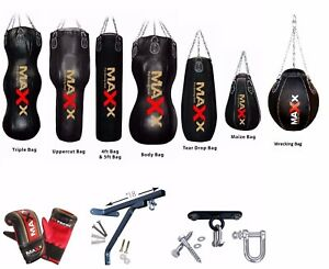 New Floor Anchor System Punch Bag Double End Ball MMA Heavy Hook Gym