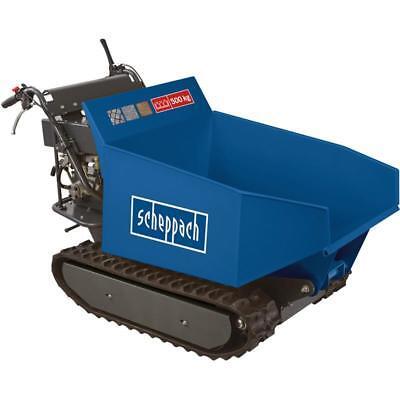 Scheppach Mini-Raupen-Dumper DP5000 500 kg Motorschubkarre Raupendumper