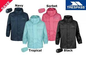 boy fashion style complete range of articles Details about Trespass Packaway Unisex Waterproof Jacket - Kids