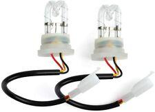 SmallFatW 8 HID Bulbs 160w Hide-a-way Emergency Hazard Warning Headlight Truck Strobe Light Kit System White