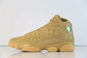sports shoes 38f41 69e5f Image is loading Nike-Air-Jordan-Retro-13-Wheat-Elemental-Gold-