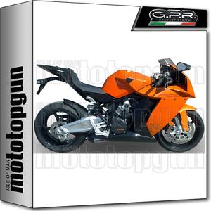 GPR FULL EXHAUST SYSTEM RACE GPE EVO TITANIUM KTM RC8-R 2014 14 ...