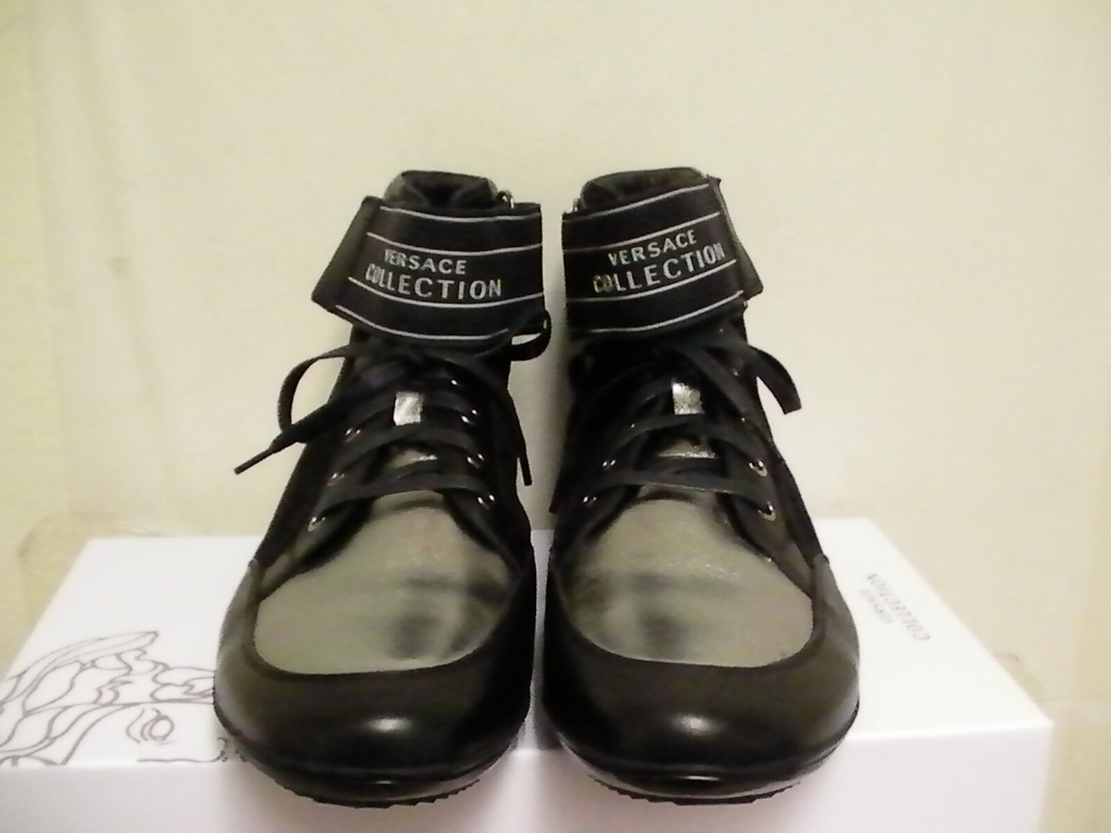 Versace collection men scarpe casual High Dimensione 44 euro new with box