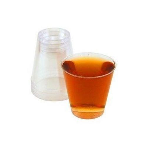 Lot de 100 grands en plastique jetables verres à liqueur 4 cl//40 ml