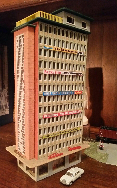 Grattacielo Faller negozi attico con Luci da Plastico Rivarossi Marklin Lima etc