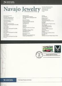 3750-NAVAJO-JEWELRY-2004-First-Day-of-Issue-Ceremony-Program