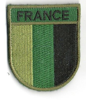 PATCH FRANCIA CAMO OPEX bordado parche militar