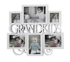 BIG White 6 pcs Grandkids Photo Picture Frame Set Home wall Display Decor New