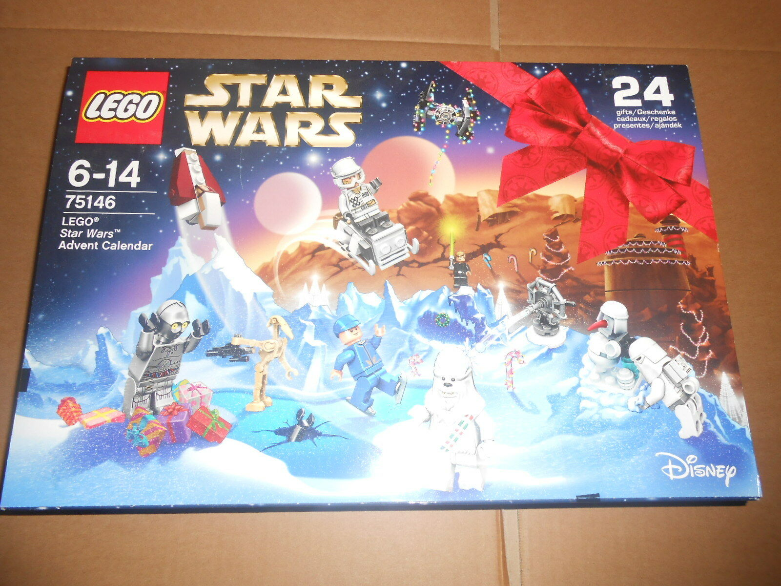 STAR WARS LEGO 75146 ADVENT CALENDAR BRAND NEW SEALED 2016