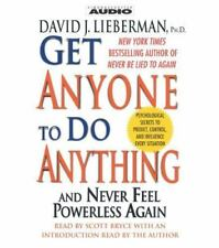 Get Anyone to Do Anything by David J. Lieberman (2002, CD, Abridged)