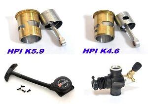 hpi savage xl k5 9 k4 6 engine pull start parts cylinder set ebay